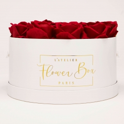 Luxe white box rouge passion