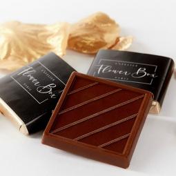 Chocolats au lait praliné