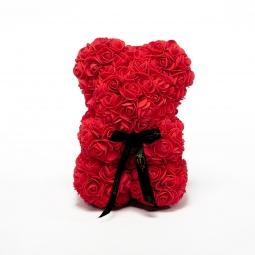 Little Ours en roses rouges