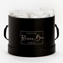 Medium black box blanc pure