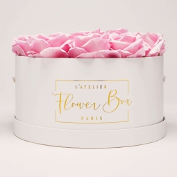 Luxe white box rose doux